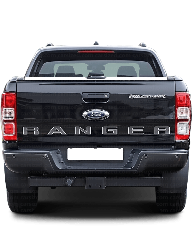 Ford Ranger Pick-up 2011-present Rear View