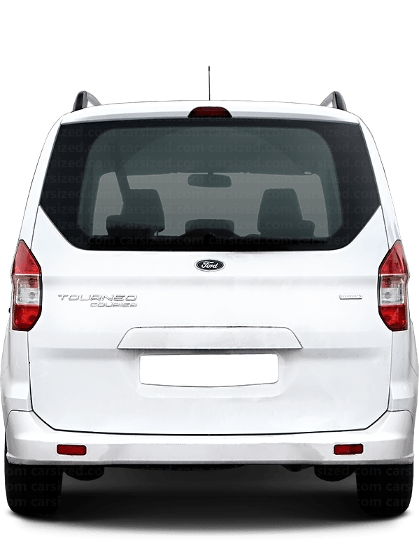Ford Tourneo Courier Minivan 2014-present Rear View
