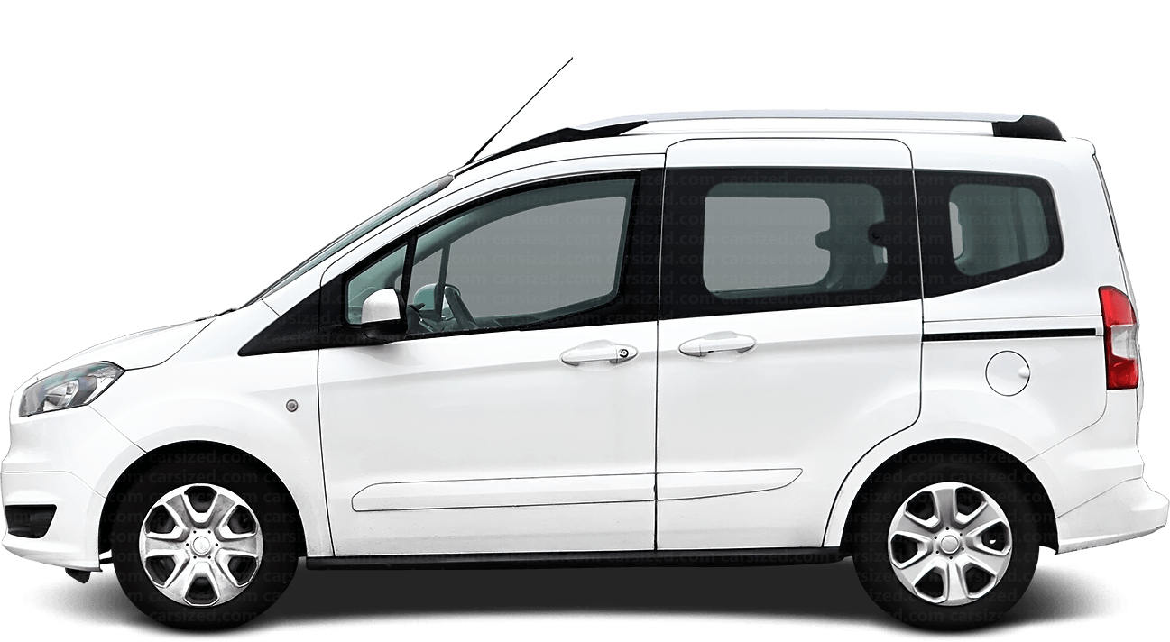 Ford Tourneo Courier Minivan 2014-present Side View