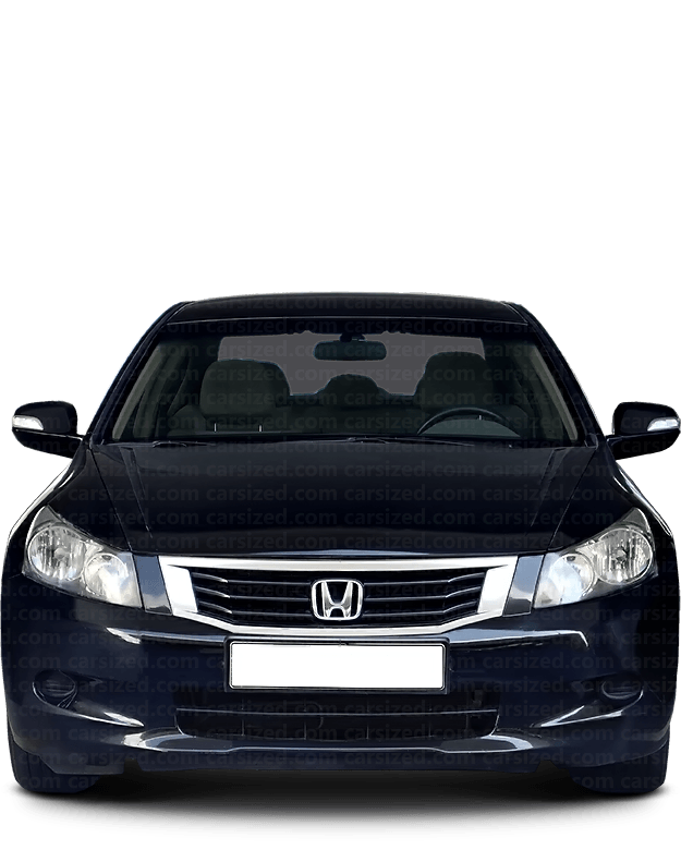 Honda Accord Sedan 2007-2012 Front View