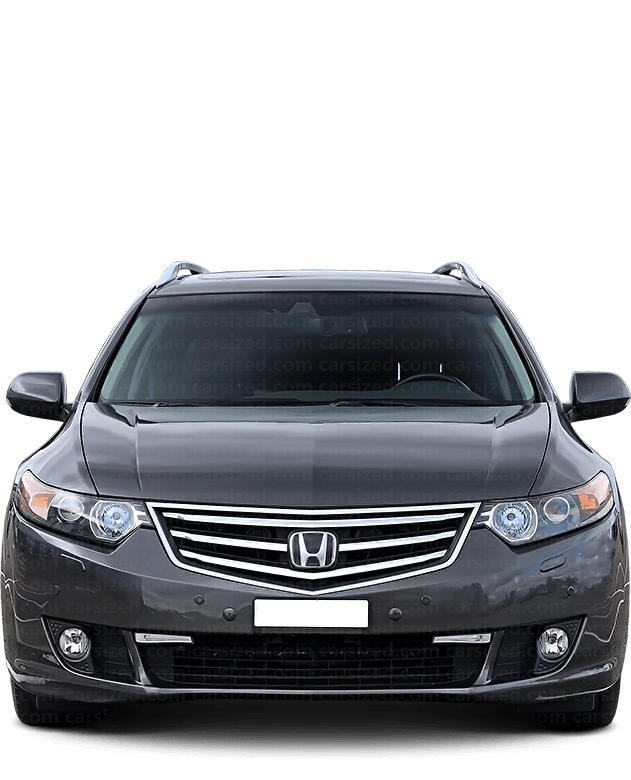 Honda Accord Estate 2008-2015 Front View