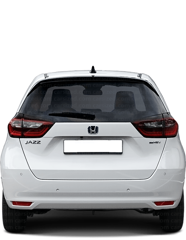Honda Jazz/Fit Hatchback 2020-present Rear View