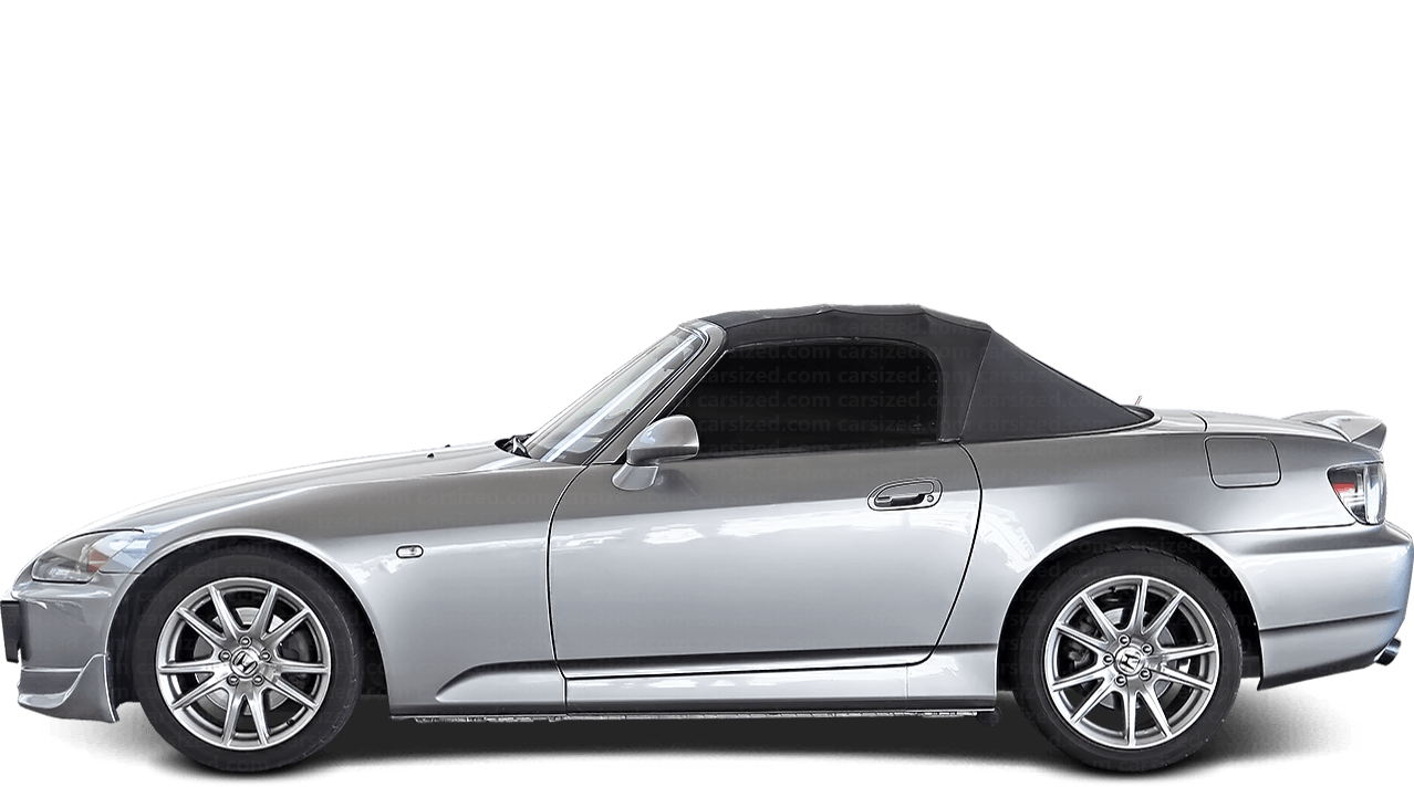 Honda S2000 Roadster 1999-2003 Side View