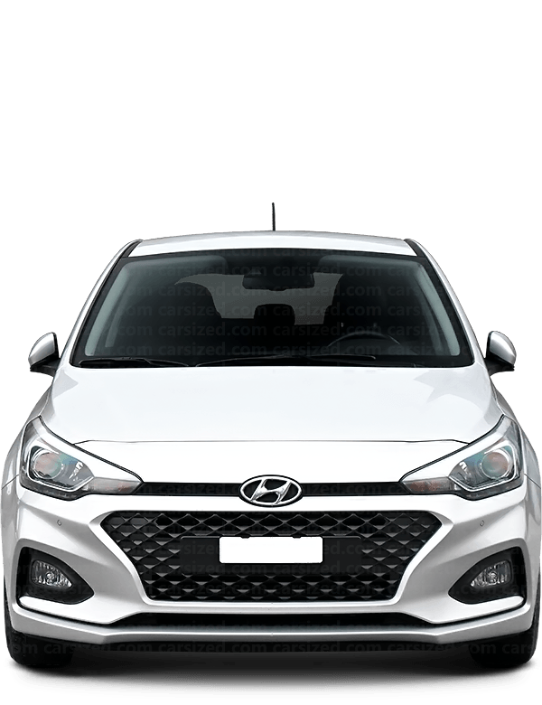 Hyundai i20 Hatchback 2014-2020 Front View