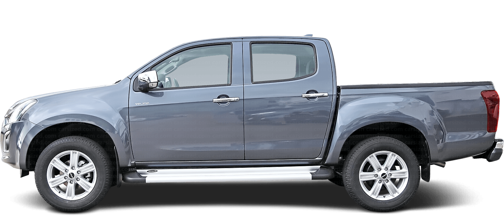 Isuzu D-Max Pick-up 2012-present Side View