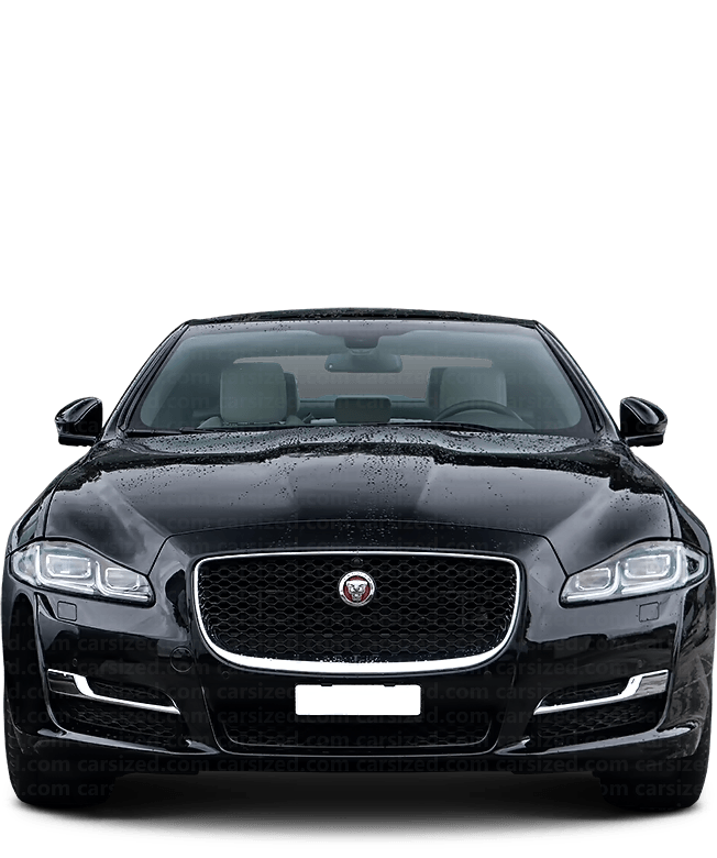 Jaguar XJ Sedan 2010-2019 Front View
