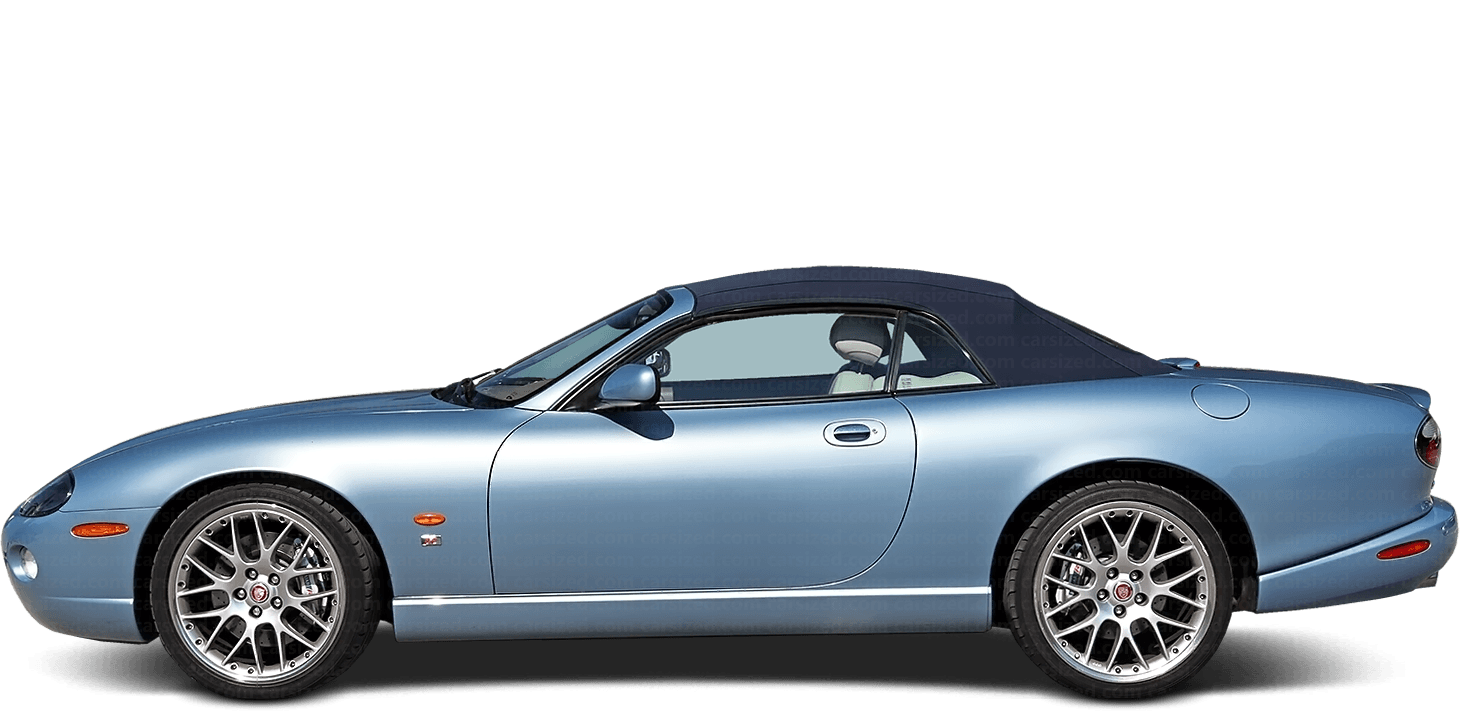 Jaguar XK Cabriolet 2005-2006 Side View