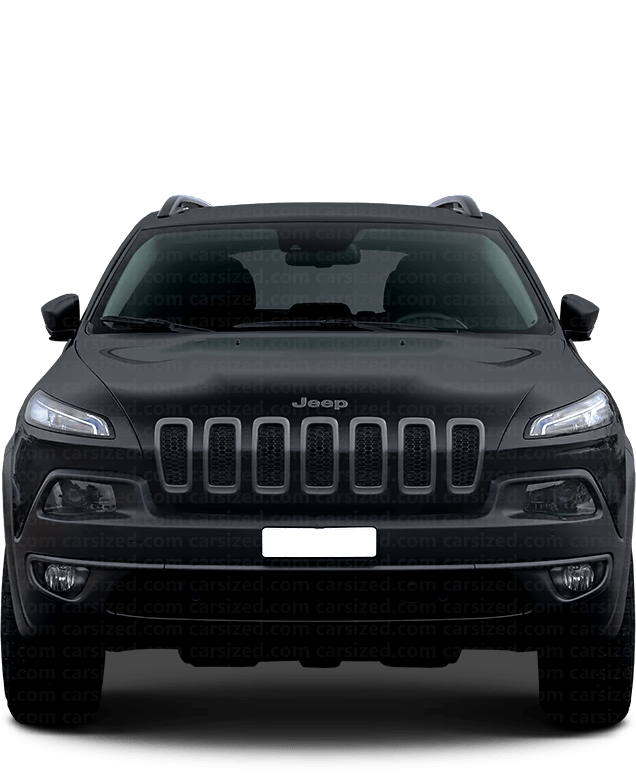 Jeep Cherokee SUV 2013-present Front View