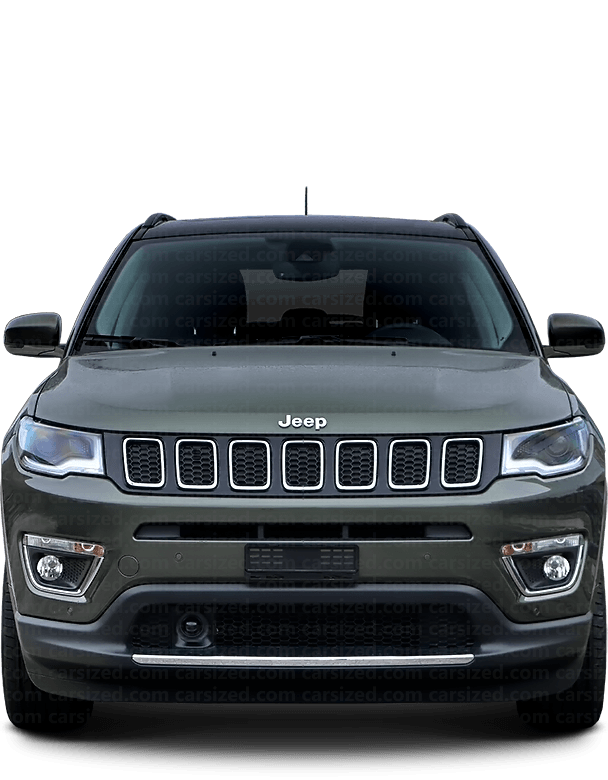 Jeep Compass SUV 2016-present Front View