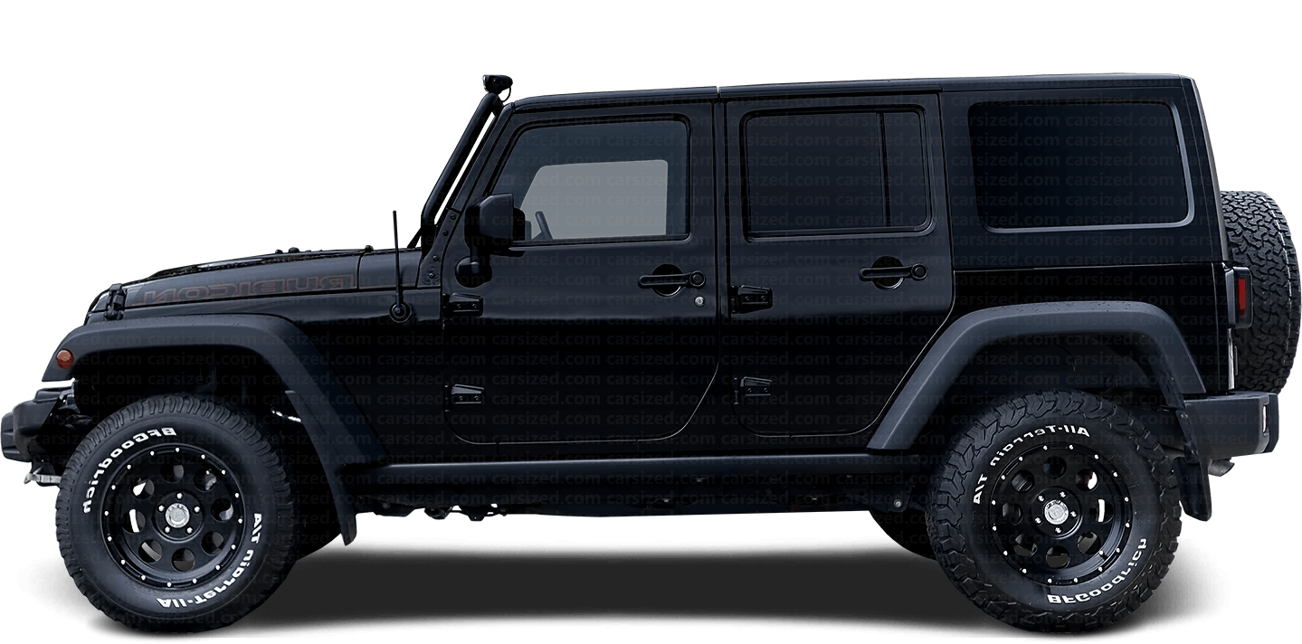 Jeep Wrangler 4-door SUV Rubicon 2006 - 2018