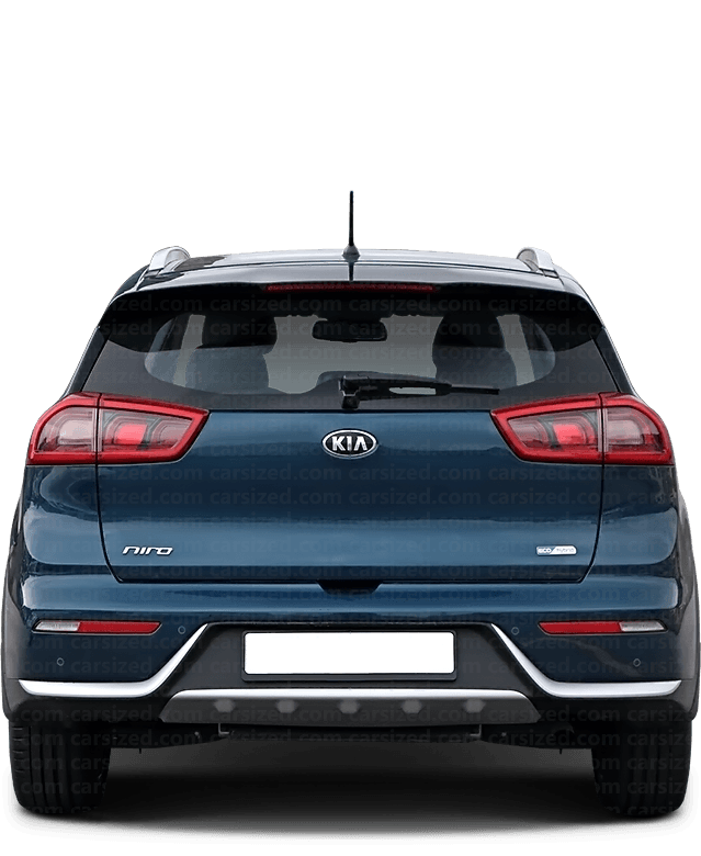 Kia Niro SUV 2016-present Rear View