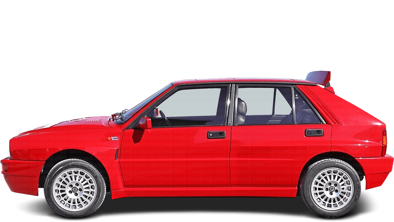 Lancia Delta 5-door Hatchback Integrale 1989 - 1994