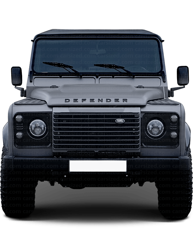 Land Rover Defender Offroader 2007-2016 Front View