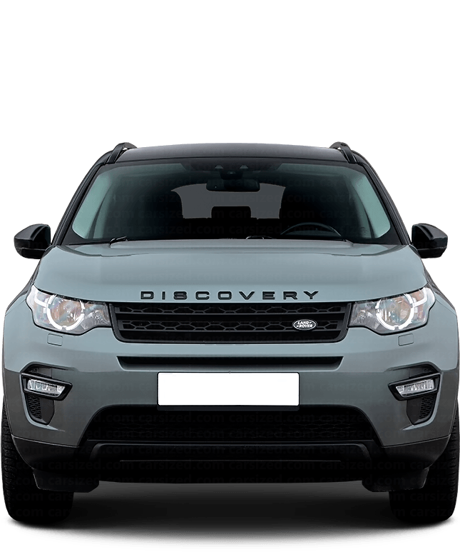 Land Rover Discovery Sport SUV 2014-present Front View