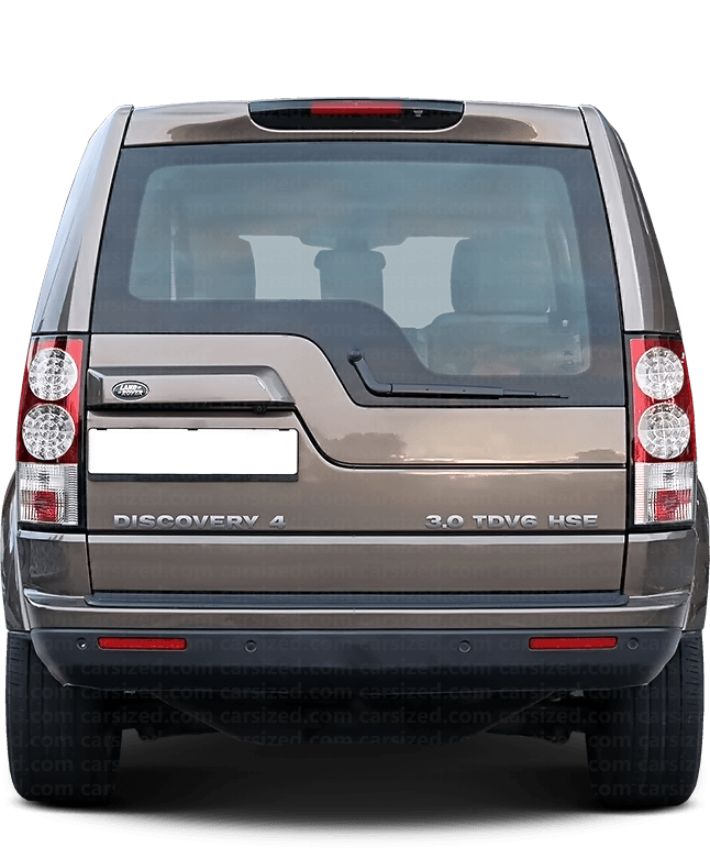 Land Rover Discovery SUV 2009-2016 Rear View