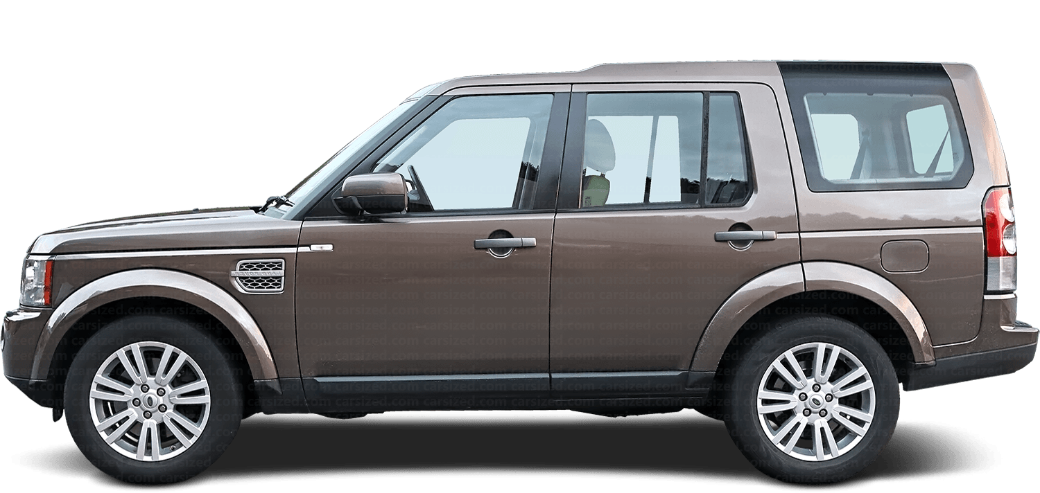 Land Rover Discovery SUV 2009-2016 Side View
