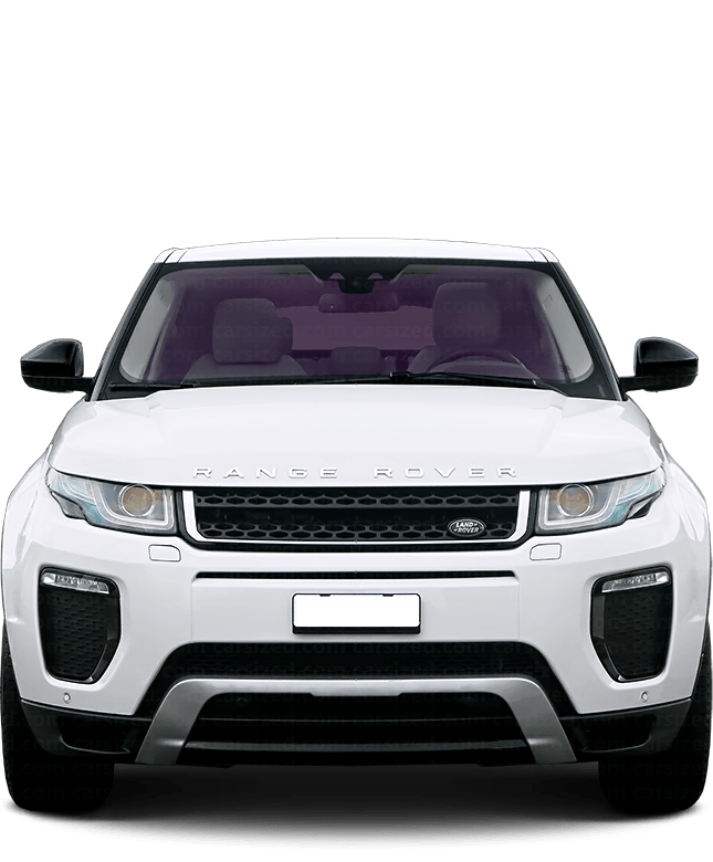 Land Rover Range Rover Evoque SUV 2011-2018 Front View