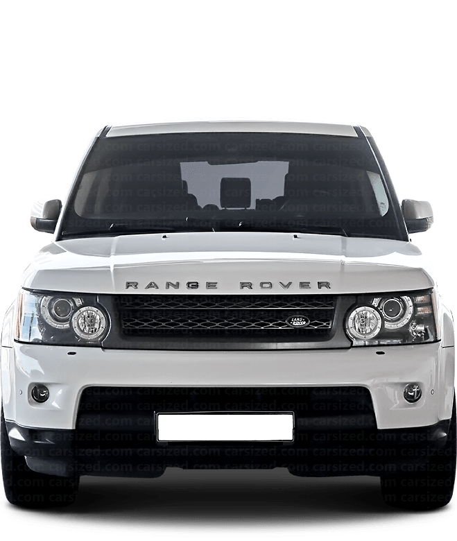 Land Rover Range Rover Sport SUV 2005-2013 Front View