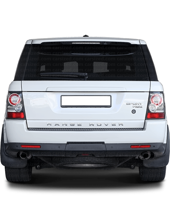 Land Rover Range Rover Sport SUV 2005-2013 Rear View