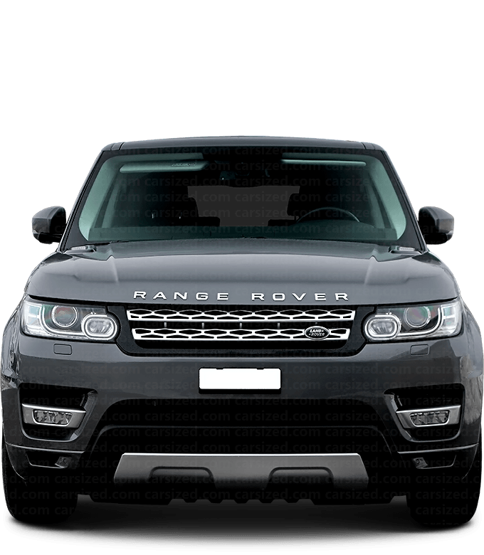 Land Rover Range Rover Sport SUV 2013-2017 Front View