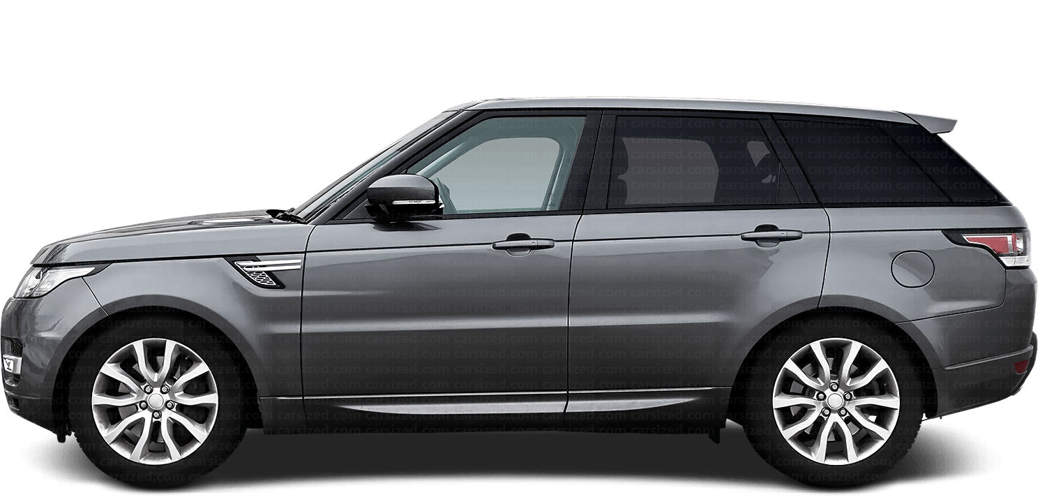 Land Rover Range Rover Sport SUV 2013-2017 Side View