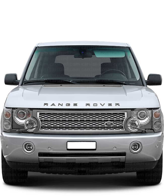 Land Rover Range Rover SUV 2002-2005 Front View