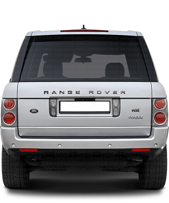 Land Rover Range Rover SUV 2002-2005 Rear View