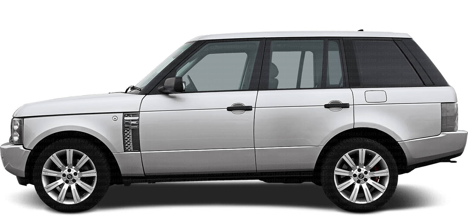 Land Rover Range Rover SUV 2002-2005 Side View