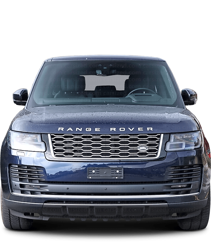 Land Rover Range Rover SUV 2012-present Front View
