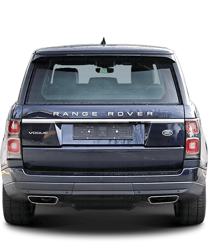 Land Rover Range Rover SUV 2012-present Rear View