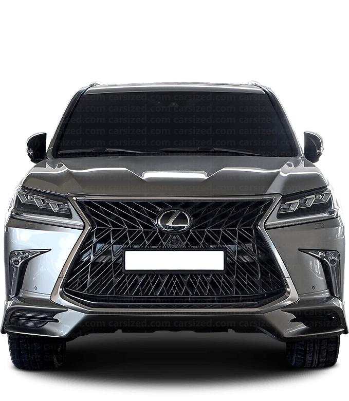 Lexus LX SUV 2015-present Front View