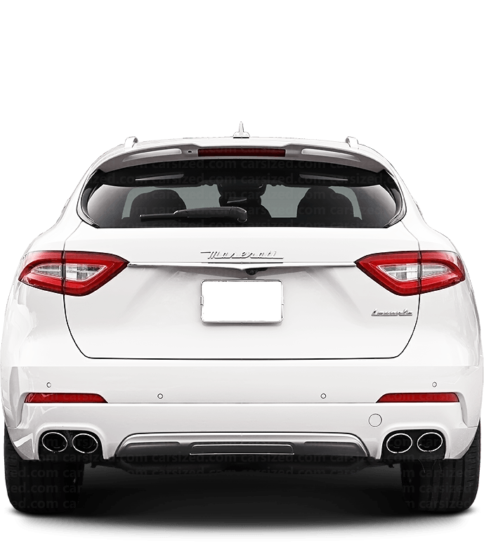 Maserati Levante SUV 2016-present Rear View