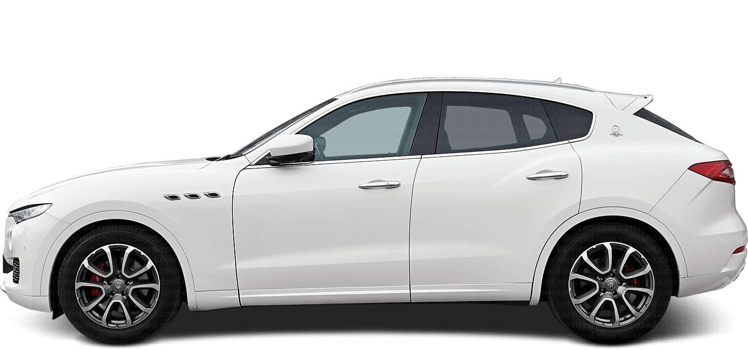 Maserati Levante SUV 2016-present Side View