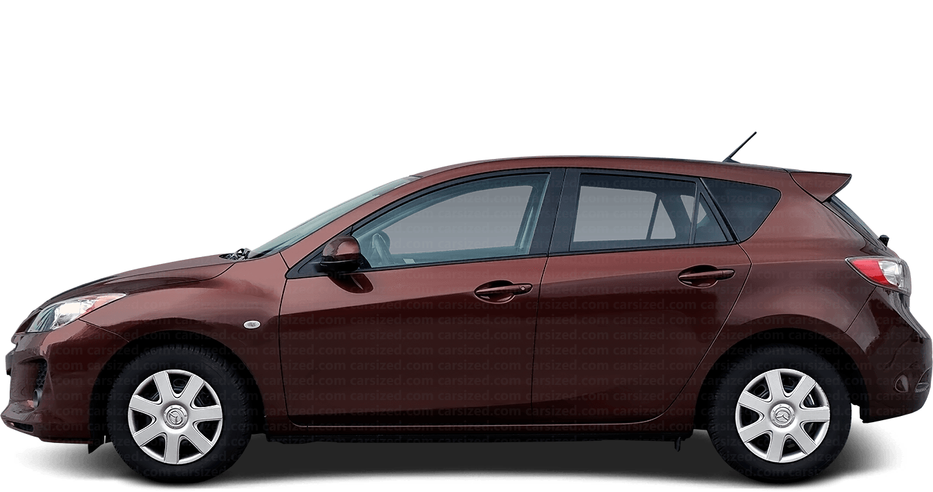 Mazda 3 5-door Hatchback  2011 - 2013