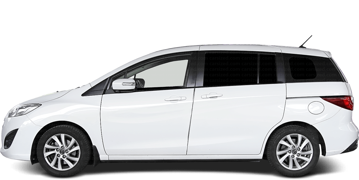 Mazda 5 Minivan 2010-2018 Side View