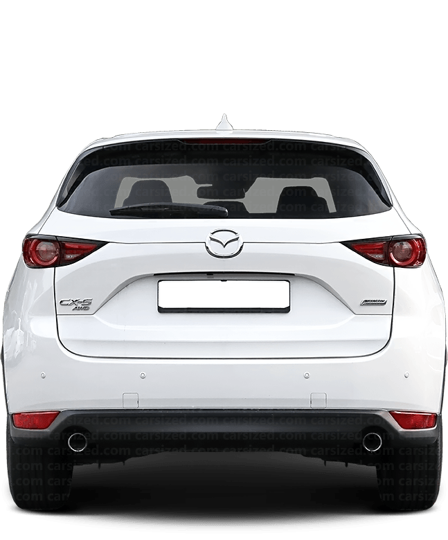 Mazda CX-5 SUV 2017-present Rear View