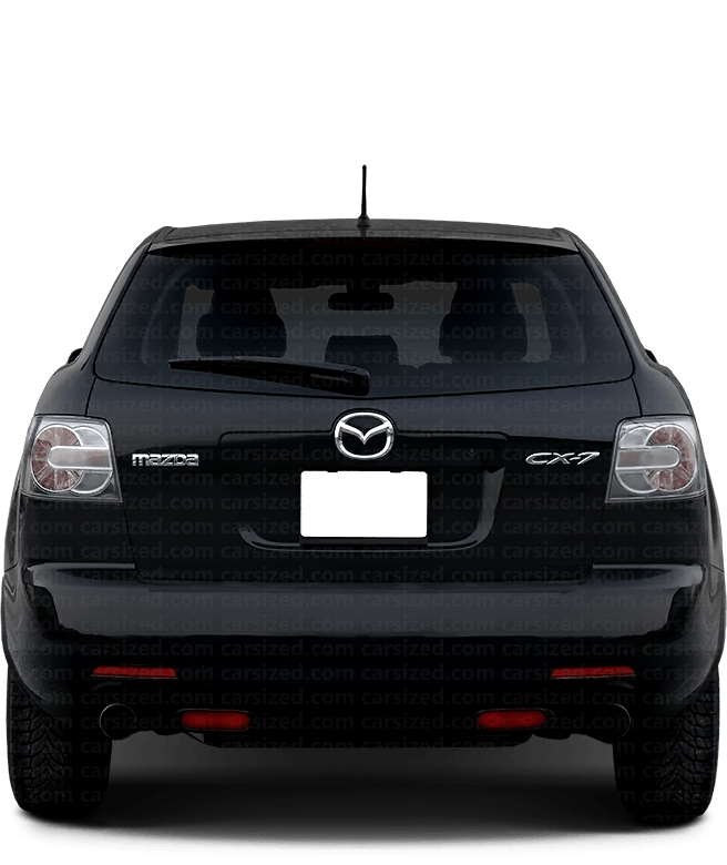 Mazda CX-7 SUV 2006-2009 Rear View