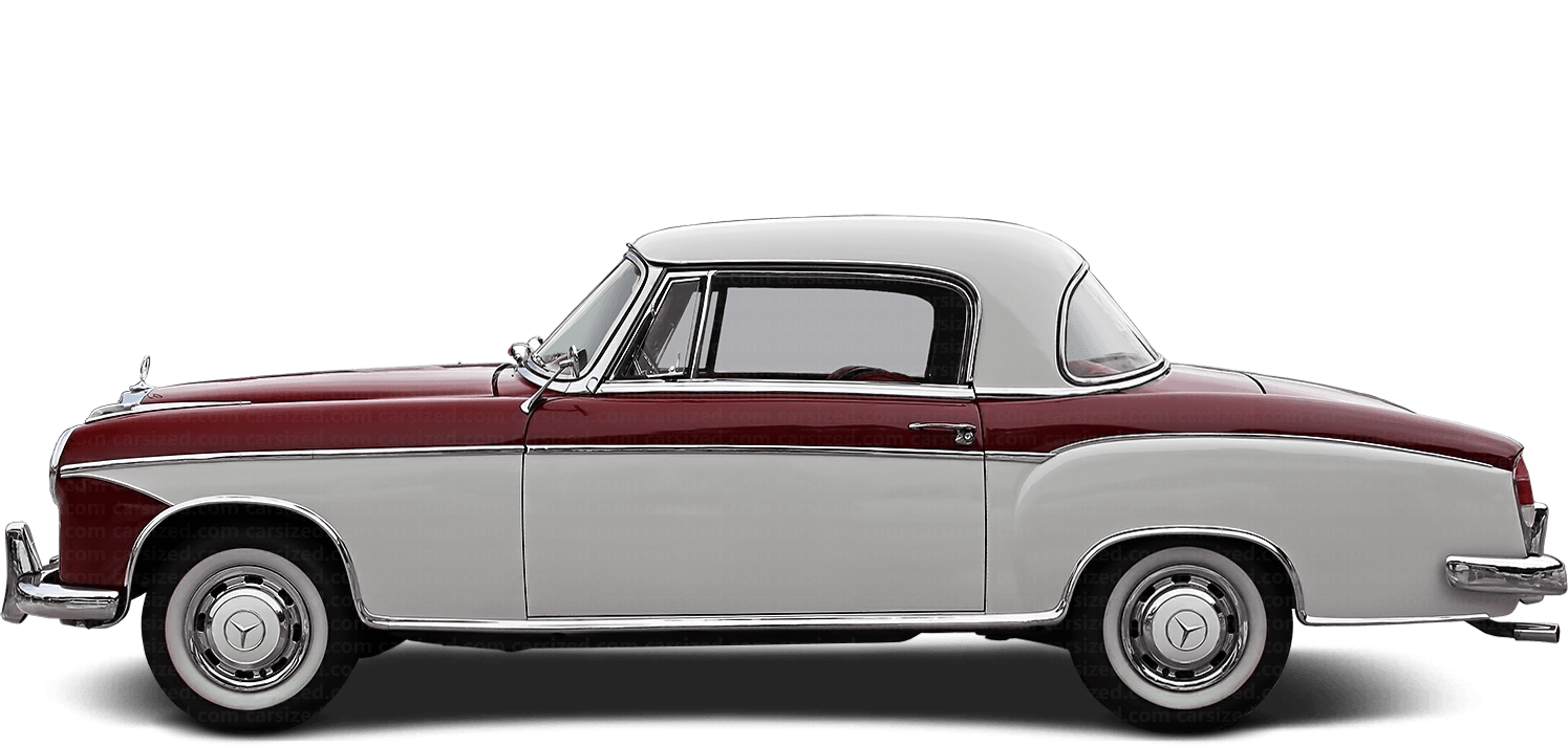 Mercedes-Benz 220 S coupé 1954-1959