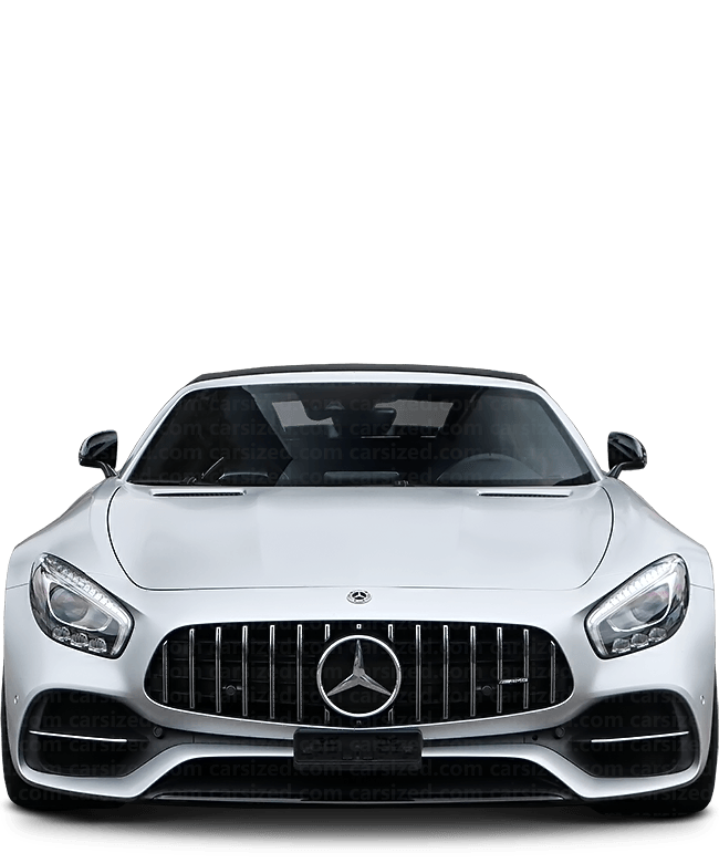 Mercedes-Benz AMG GT Roadster 2014-present Front View