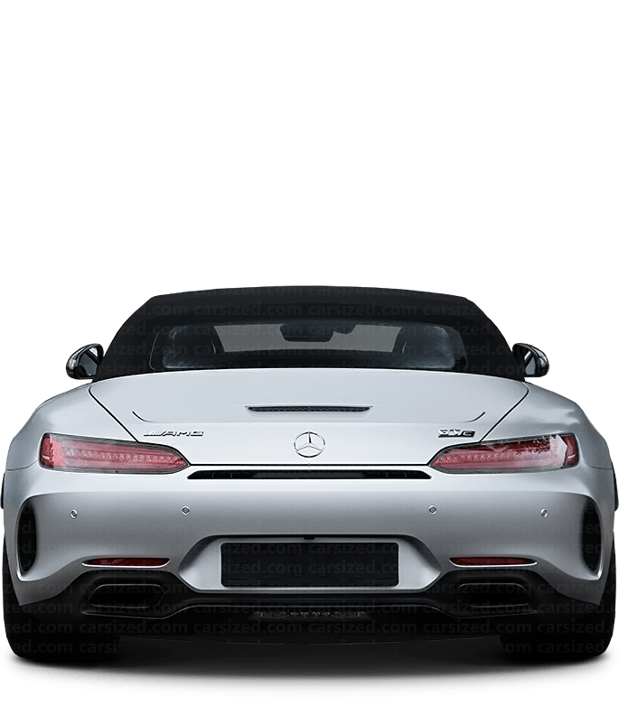 Mercedes-Benz AMG GT Roadster 2014-present Rear View