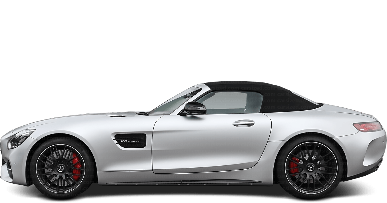 Mercedes-Benz AMG GT Roadster 2014-present Side View