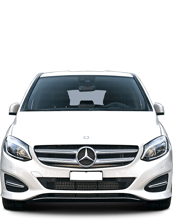 Mercedes-Benz B ステーションワゴン 2011-2018 正面図