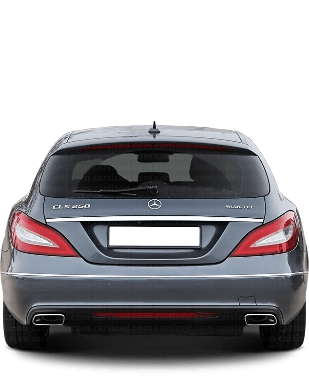 Mercedes-Benz CLS Estate 2010-2018 Rear View
