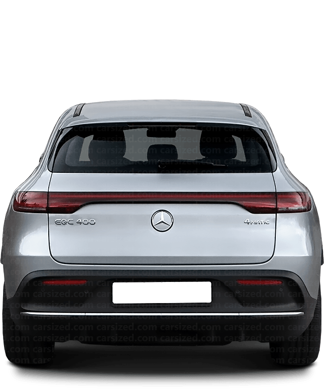 Mercedes-Benz EQC SUV 2019-present Rear View