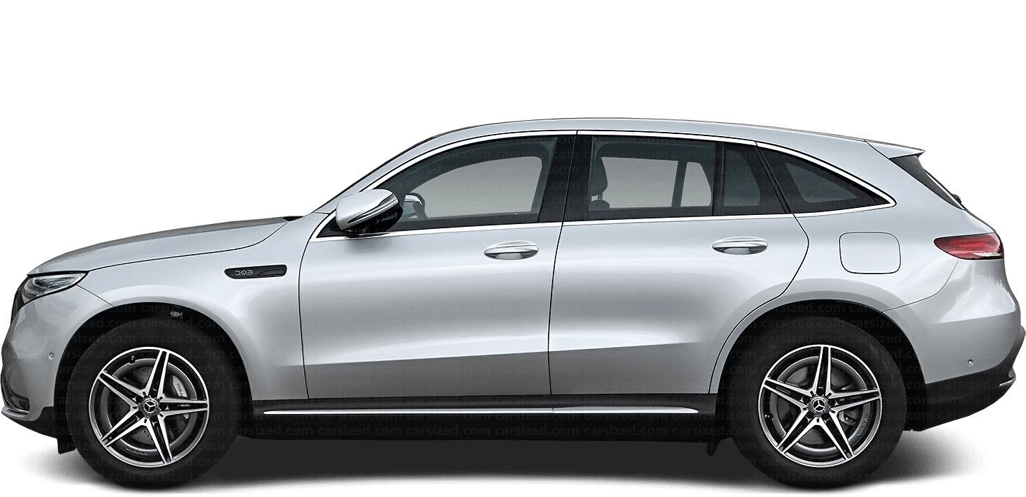 Mercedes-Benz EQC SUV 2019-present Side View