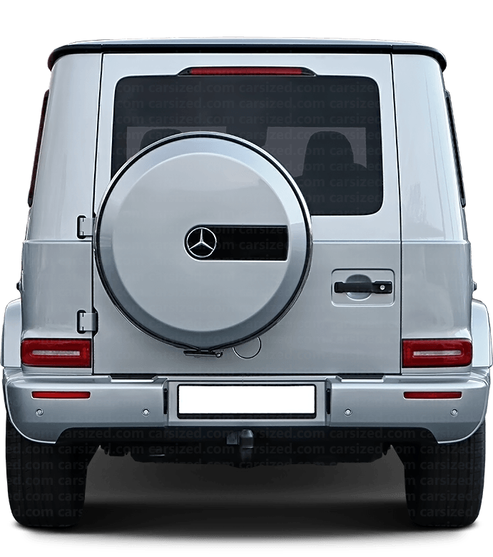 Mercedes-Benz G SUV 2018-present Rear View