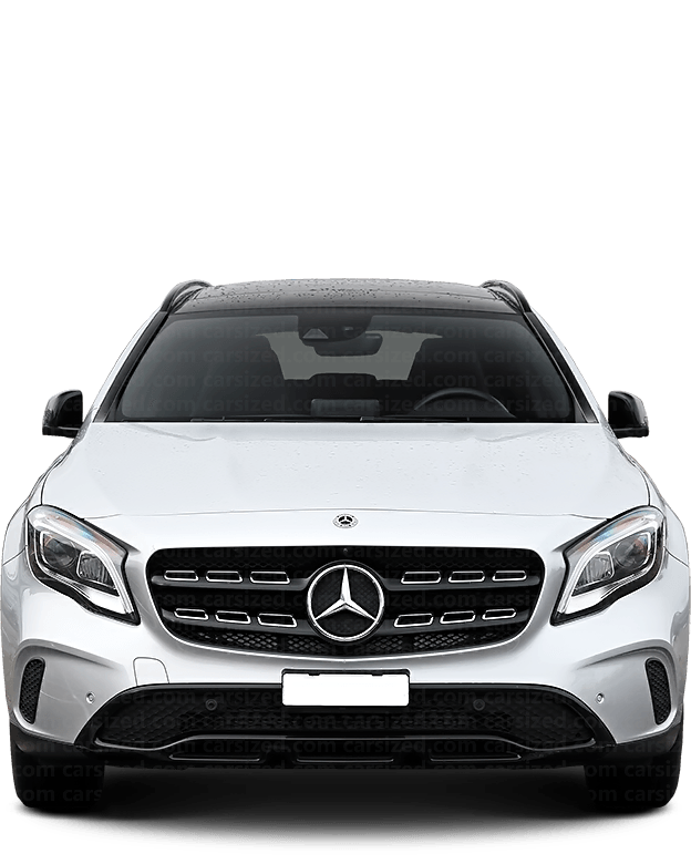 Mercedes-Benz GLA SUV 2014-2019 Front View