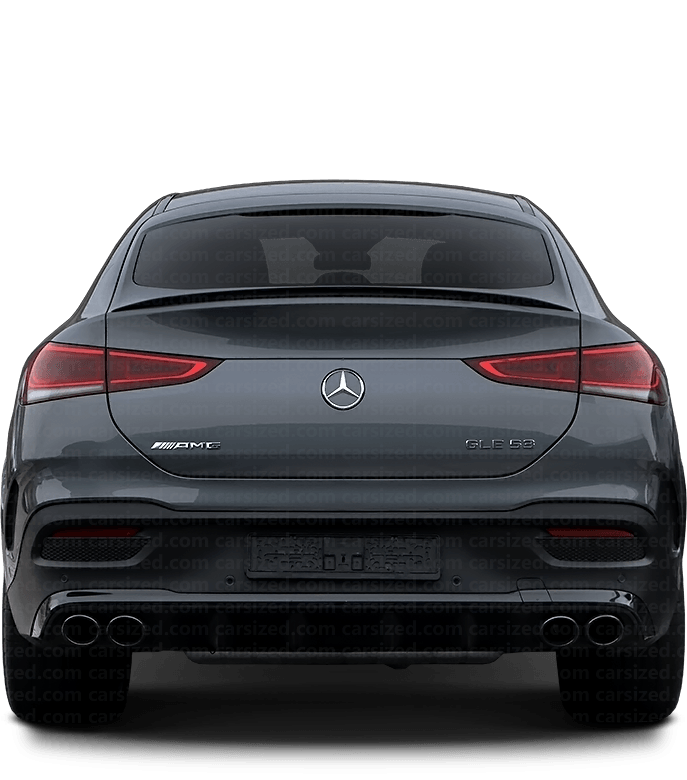 Mercedes-Benz GLE coupé SUV 2019-現在 背面図
