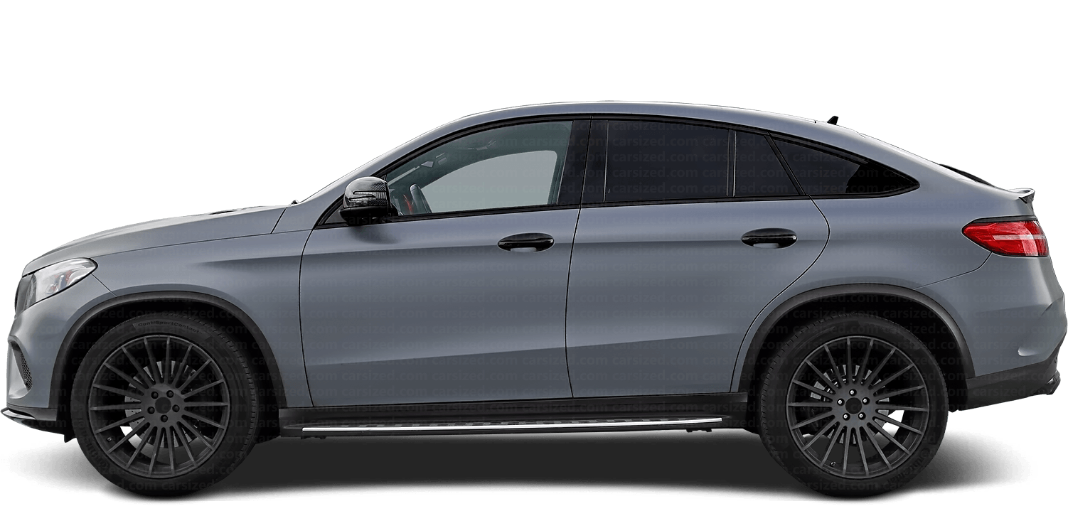 Mercedes-Benz GLE coupé SUV 2014-2019