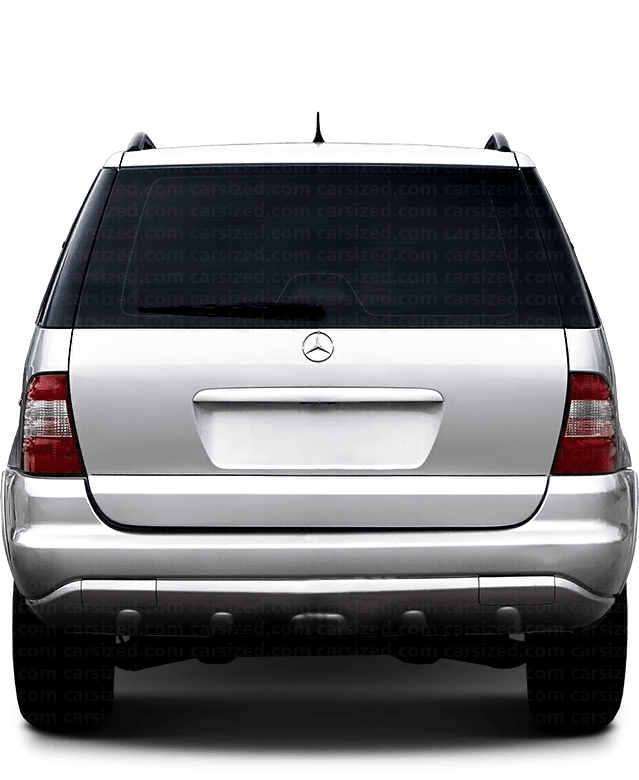 Mercedes-Benz M SUV 2001-2005 Rear View